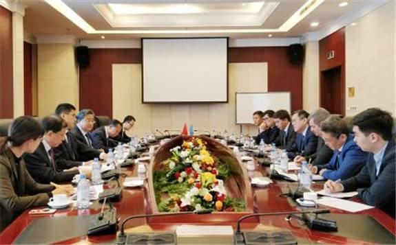 余剑锋率团出访哈萨克斯坦 推动中哈核能合作