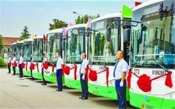 武汉开发区氢能源公交车运营启动 21台氢能公交上线运营