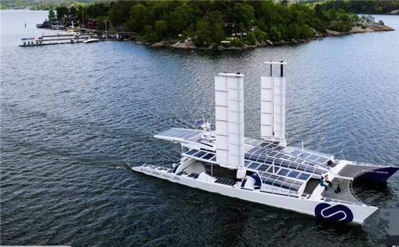 世界首艘氢动力游艇航行至瑞典
