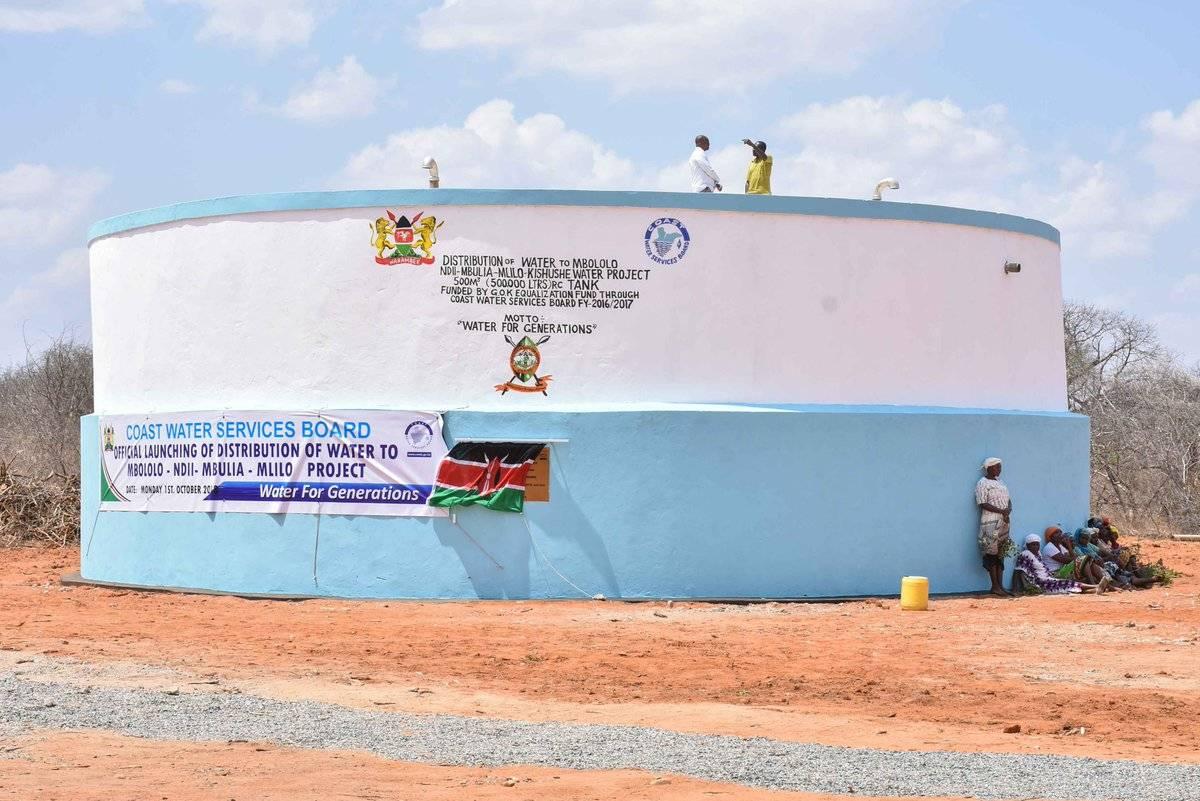 肯尼亚Mbololo-Ndii-Mlilo水利工程即将完工
