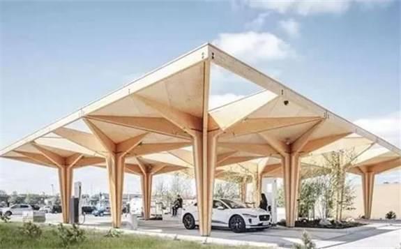 丹麦车站推出电动汽车超快充电站