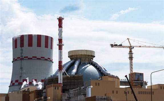 新沃罗涅日州II核电站2号机组开始试运行