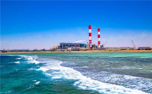 全球最大燃油电站——沙特延布三期5×660MW项目3号机组并网发电