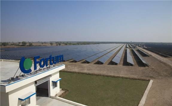 Fortum将减少在印度185兆瓦太阳能组合的持有权