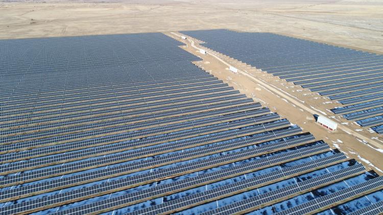 Hevel开始在哈萨克斯坦建设100MW太阳能发电厂