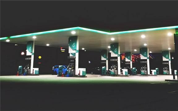 沙特阿拉伯第一个加氢站落成