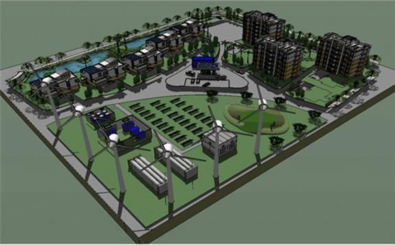 微电网氢能蓄电系统示范项目圆满完成