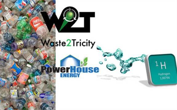 与日本政府就使用技术将塑料转化为电和氢的问题进行谈判