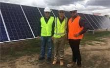 澳大利亚霍顿光伏项目完成全部光伏组件安装