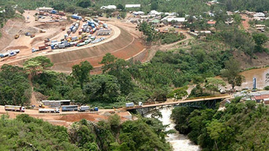 卢旺达和坦桑尼亚边境的Rusumo水电项目已经完成47%