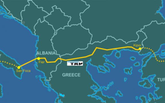 阿塞拜疆至歐洲跨安納托里亞天然氣管道已竣工