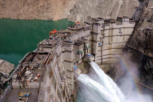 青海拉西瓦水电站发电量突破1000亿千瓦时