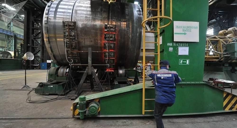 俄罗斯将为中国田湾核电站和徐大堡核电站建造设备