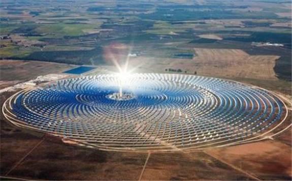 中资企业参与建设俄最大的太阳能发电站
