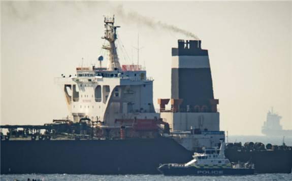 英国外交官:如果英国确认石油不会前往叙利亚,伊朗油轮将被释放