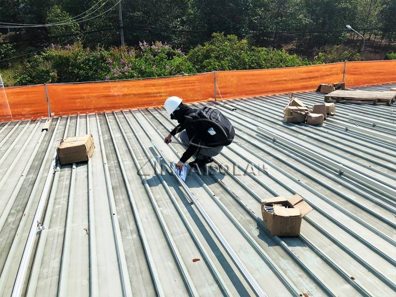安泰为越南屋面提供50MW光伏支架解决方案,热度不减