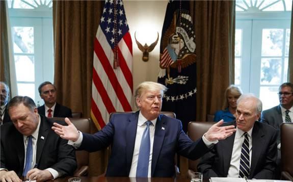 特朗普表示:如果有需要,可能会对余下价值3250亿美元的中国商品加征关税