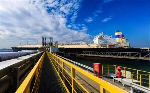 我国首个进口LNG突破千船的接收站:中国海油广东大鹏LNG接收站