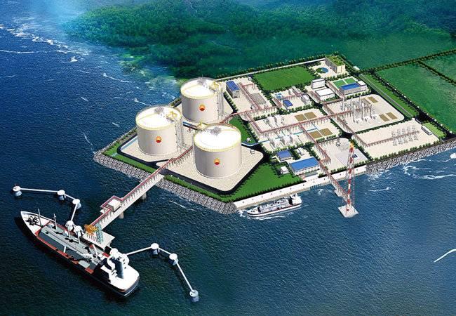 中国首个LNG接收站安全卸载1000船LNG
