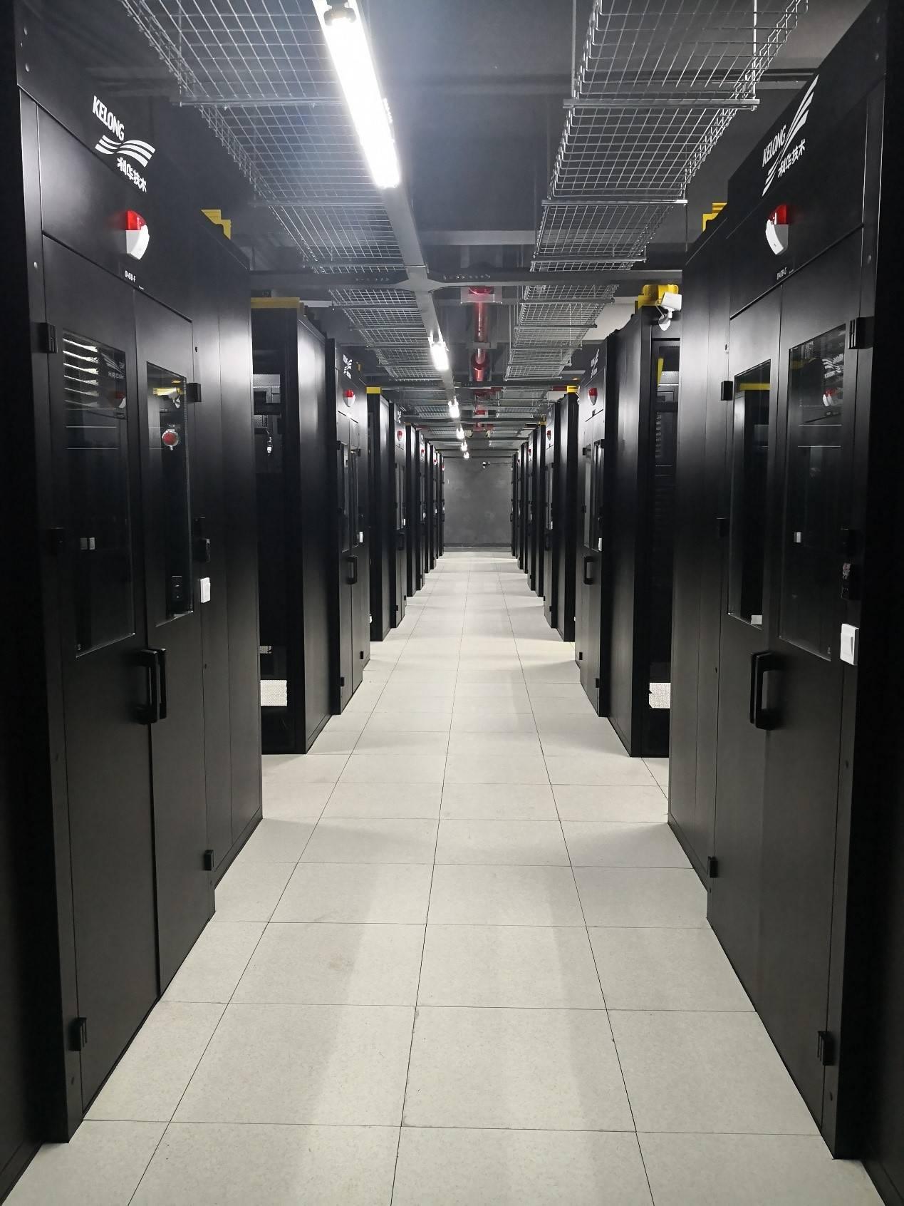 科华恒盛高密度微模块数据中心解决方案助力南京江北某云计算中心顺利投用