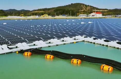 韩国下半年将建设2.1GW漂浮光伏项目