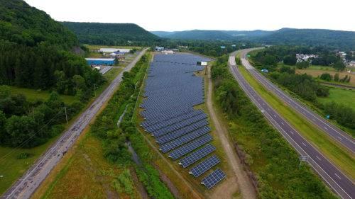 RECOM纽约Olean4.07兆瓦太阳能项目完工