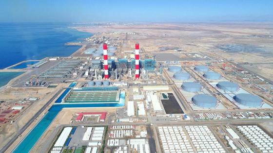 沙特延布三期燃油电站项目4号机组锅炉过热器系统打压圆满完成