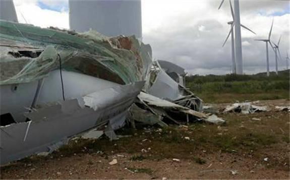GE美洲第四起风机倒塌事故 引起业内极大关注