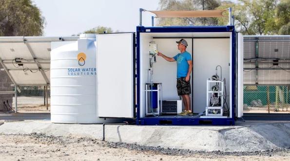 芬兰太阳能企业推出出海水淡化光伏发电系统