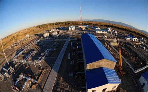 丝绸之路第一管道中哈原油管道向国内输送原油559万吨