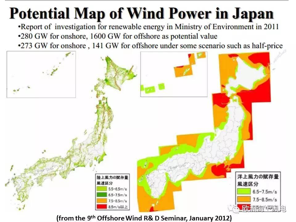 日本首次海上风电招标候选海域公布!