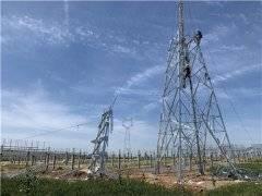 总投资40亿元的陕西 最大单体光伏电项目 实现并网投运