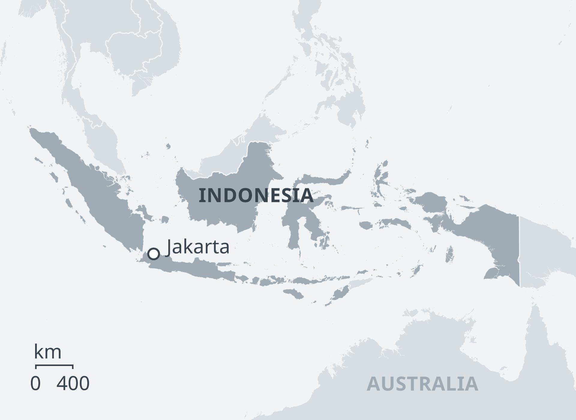 印度尼西亚雅加达受到大停电的影响