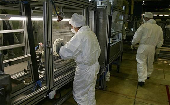俄罗斯向中国交付一批核燃料生产设备
