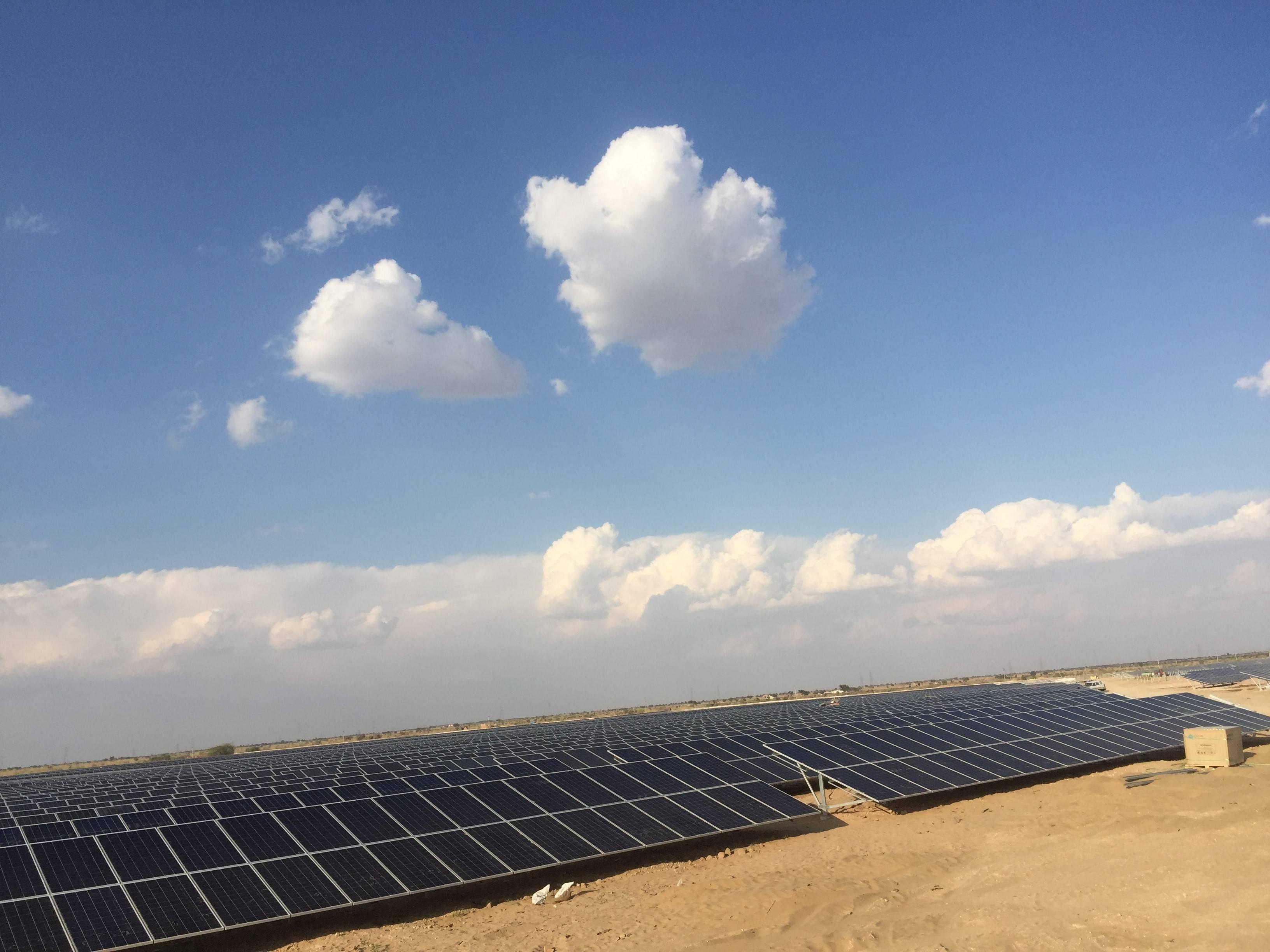科华恒盛助力印度200MW光伏电站项目顺利并网