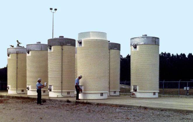 """乏燃料干式贮存容器解核电站""""燃眉之急"""""""