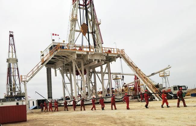 江汉石油工程刷新中国石油最深页岩气井两项施工纪录