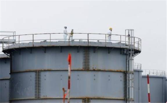 民众示威游行抗议东京电力公司将福岛第一核电站核污水排到大海