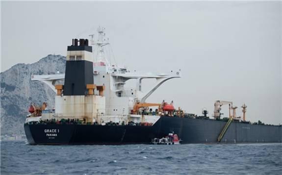 7月初被英国皇家海军陆战队占领的伊朗油轮将于周四释放