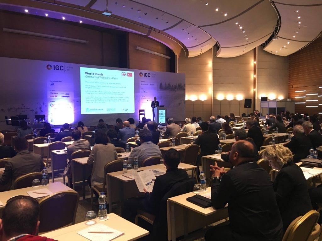IGC土耳其地熱大會暨展覽會