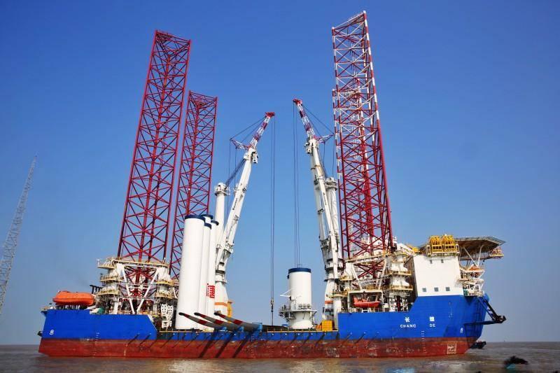 世界最大坐底式海上风电安装平台实现全船贯通