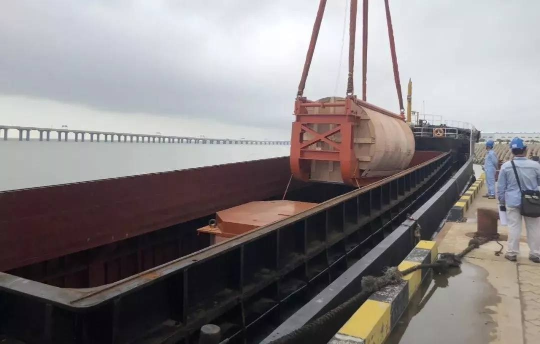 国内最后一台二代加M310核电堆型堆内构件交付完成