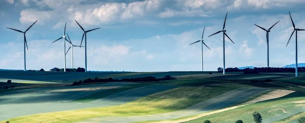 欧洲可以独自为陆上风电场供电整个世界