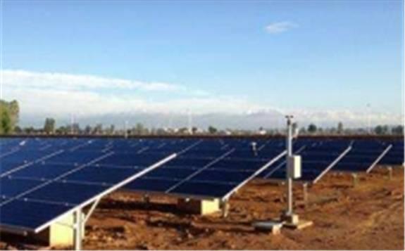 新疆托里县光伏扶贫电站全面并网发电