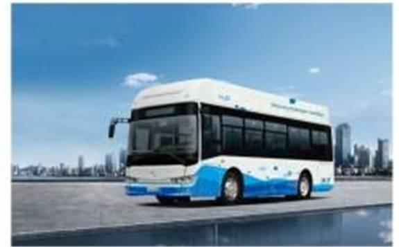 金龙推出了全新的氢燃料巴士--XMQ6850G