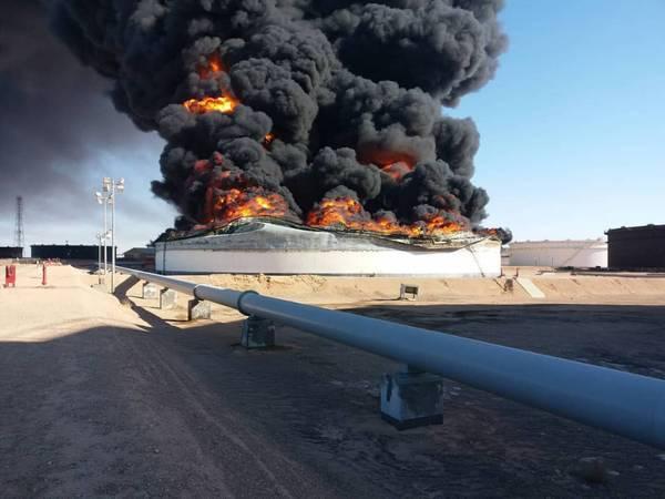 利比亚石油局势动荡 一个月内两次石油供应中断