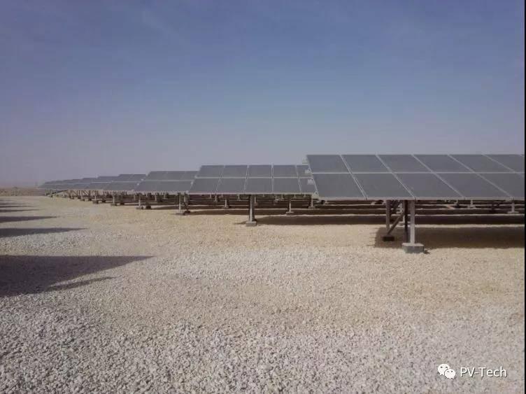 沙特阿拉伯顶级地面光伏电站开始运营供电