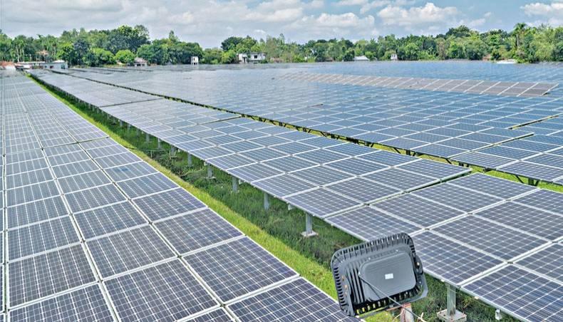 中国将资助孟加拉国450兆瓦太阳能发电产能