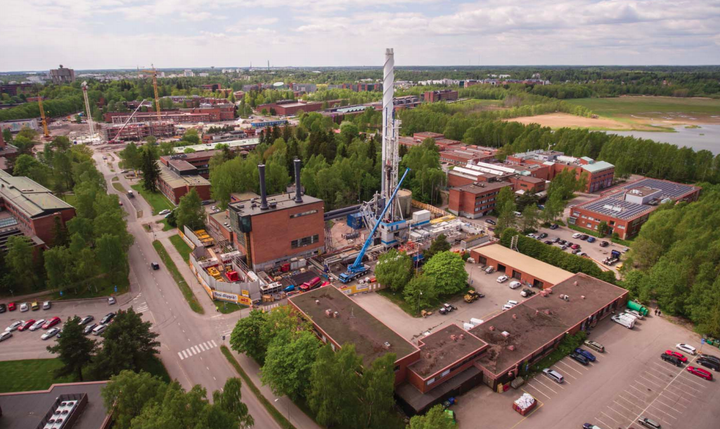 世界上最深的地热井已进入最后的钻井阶段