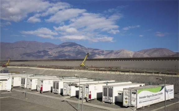 智利电池储能系统崛起